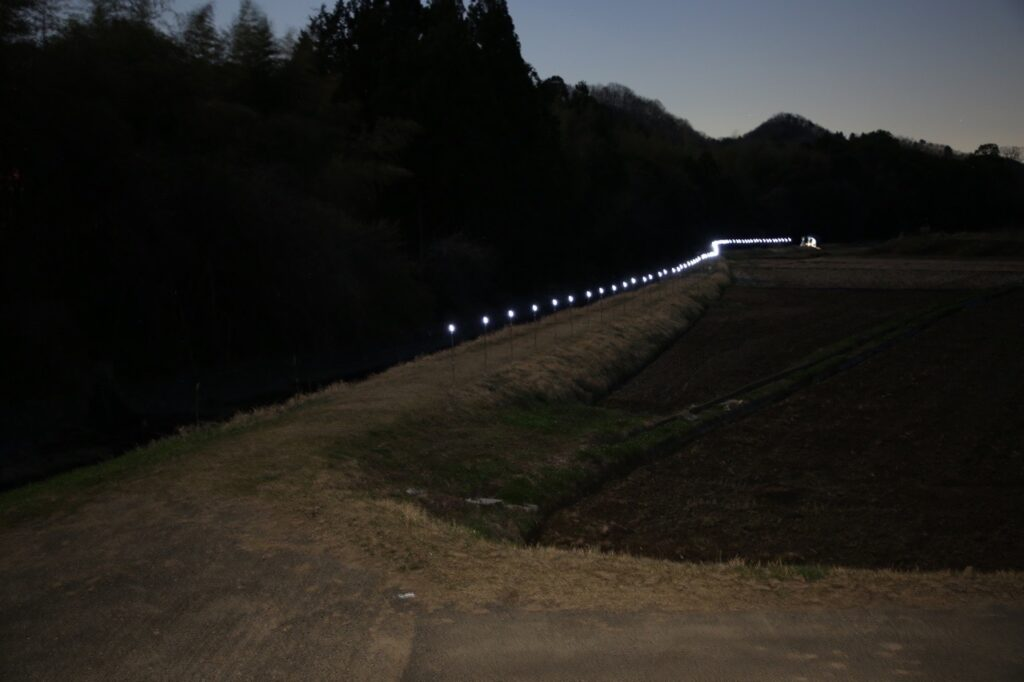 Starry Night 超小集電公開実験